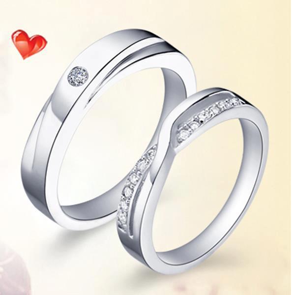 Nhẫn đôi nhẫn cặp BND401B