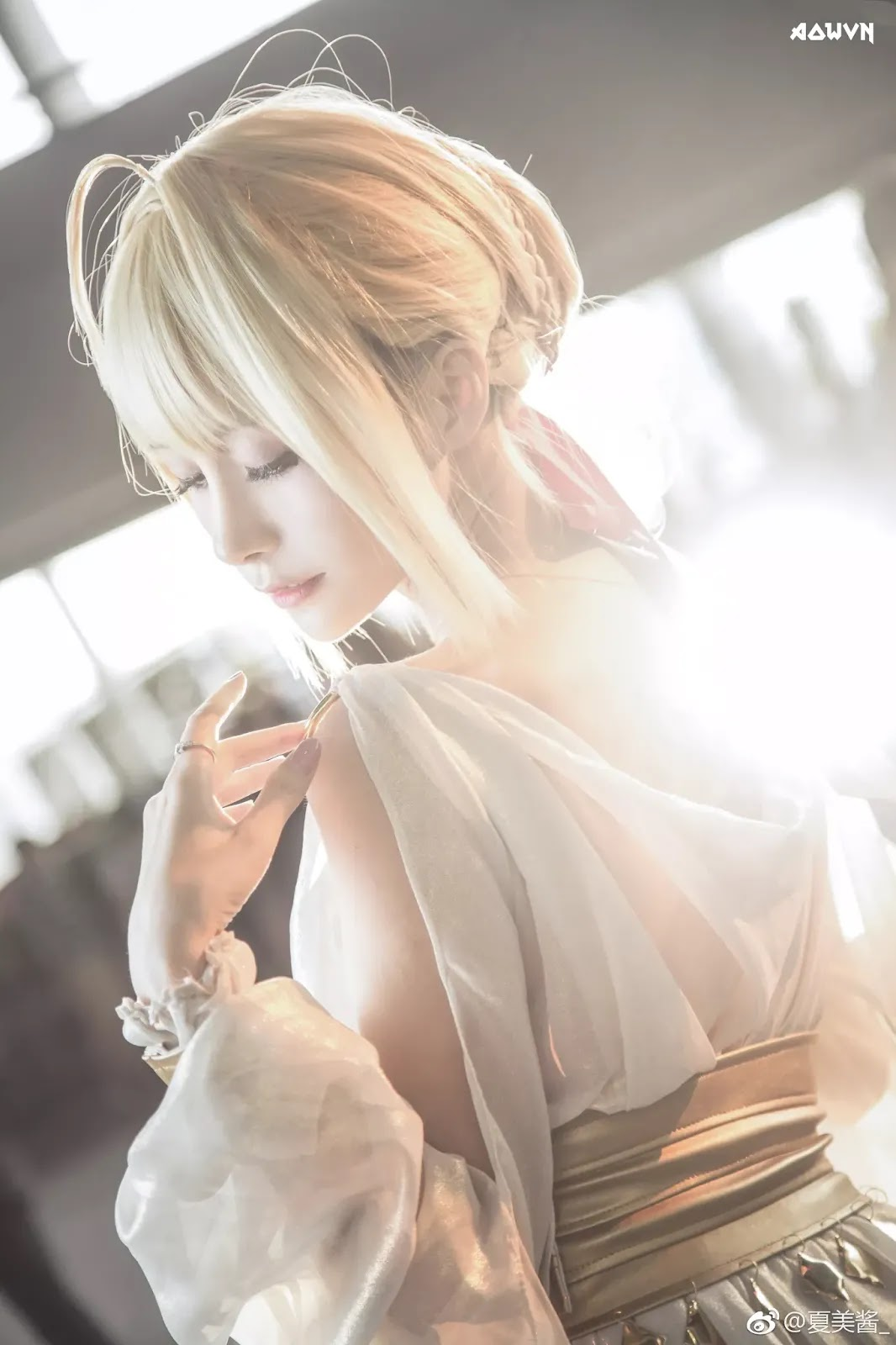 AowVN.org minz%2B%252813%2529 - [ Cosplay ] Nero - Saber anime Fate by Xia Mei Jiang tuyệt đẹp | AowVN Wallpapers