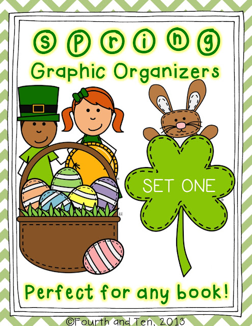 Fourth and Ten: Spring Graphic Organizers Set One