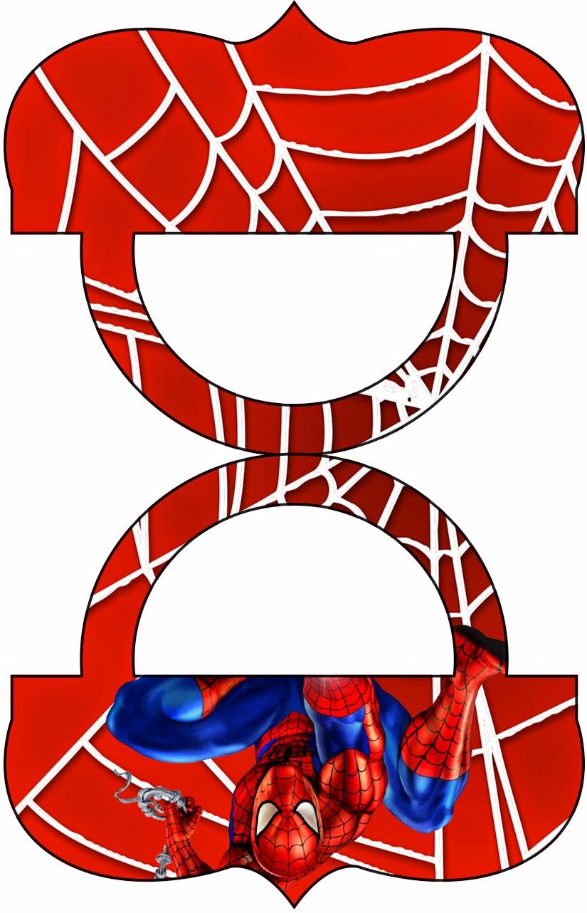 Spiderman: Etiquetas para Candy Bar para Imprimir Gratis. | Ideas ...