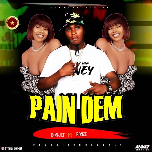 DonJet-Pain them