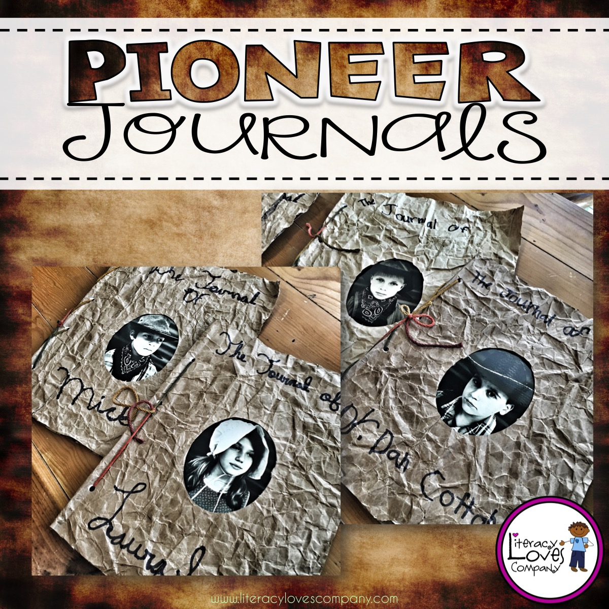 Classroom Design Journal Articles ~ Literacy loves company classroom diy pioneer journals