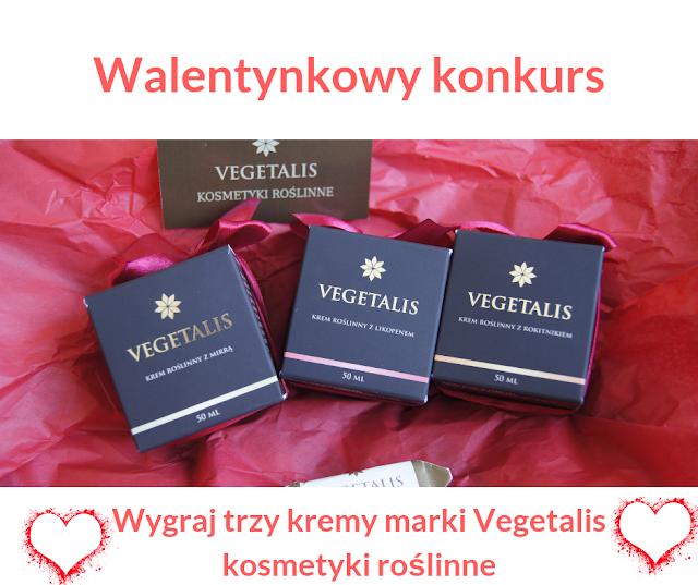 Wygraj kosmetyki roślinne marki Vegetalis, idealne na Walentynki