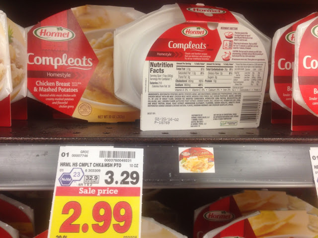 Chicken Breast & Mashed Potatoes, Hormel Compleats - Kroger