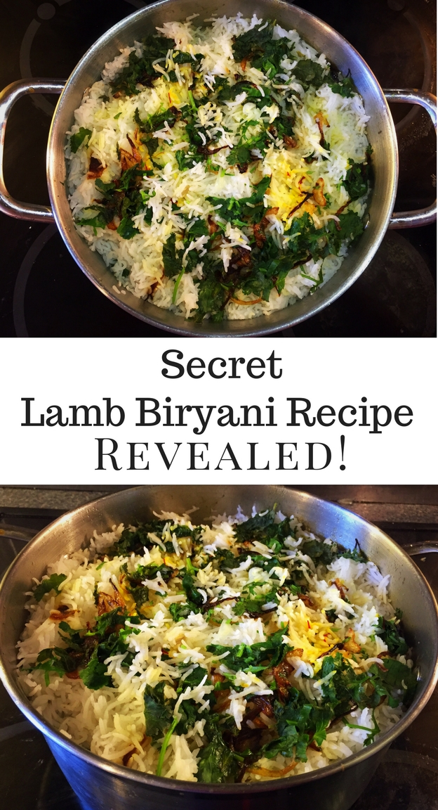 Secret Lamb Biryani Recipe Revealed!