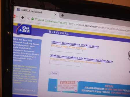 Masalah Utama Internet Banking KlikBCA