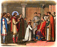 Bautismo del rey Guthrum - Athelstan