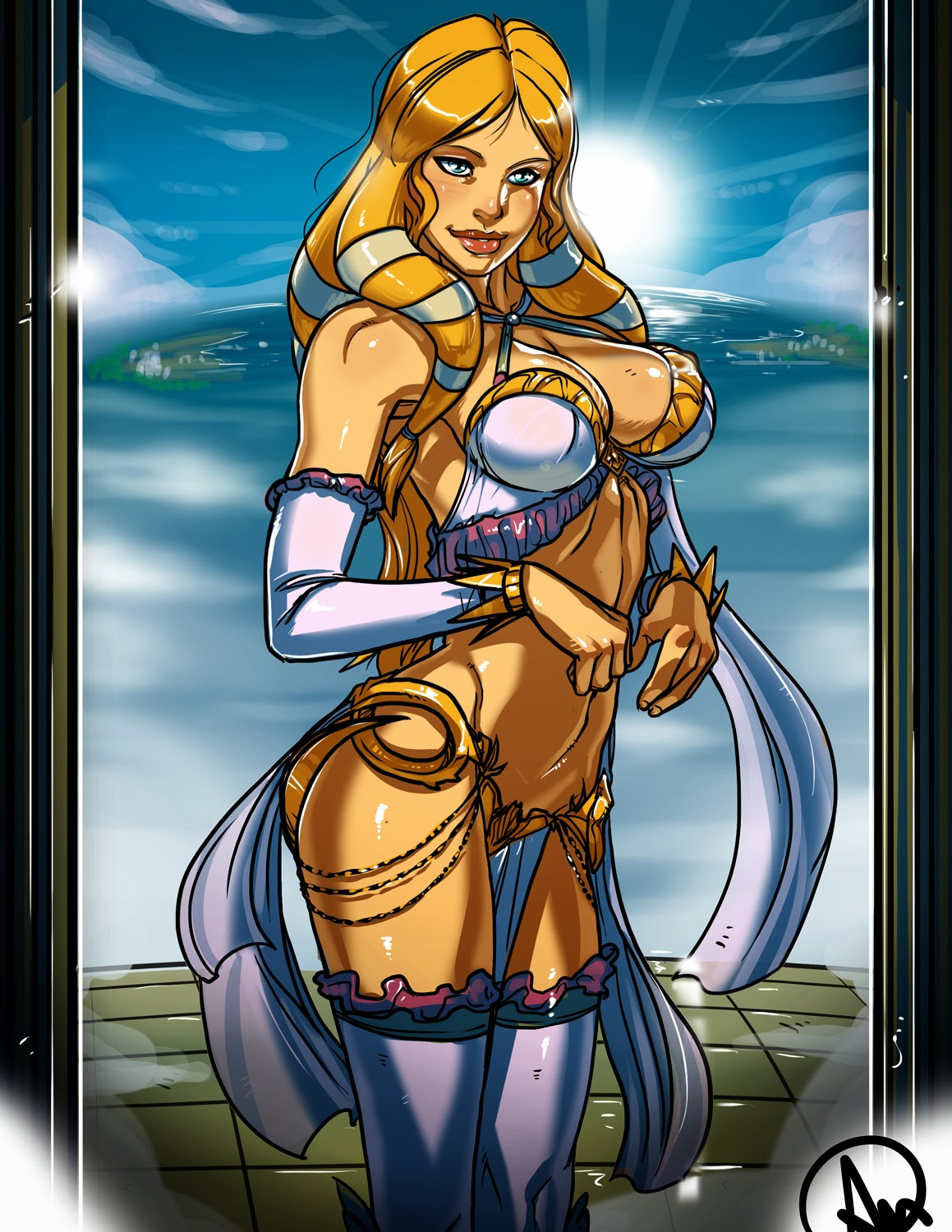 Smite goddess aphrodite nude opinion