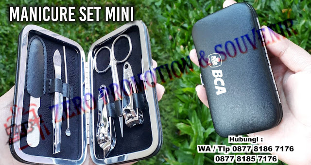 Jual Manicure Set Mini untuk Souvenir Promosi, Souvenir Manicure Pedicure Set Mini bisa cetak logo anda