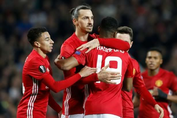 Manchester United defeated Blackburn in the FA cup