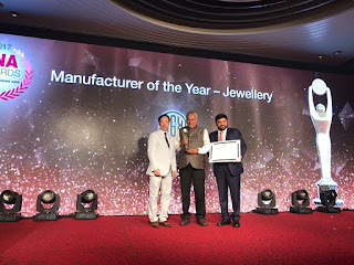 KGK Group wins the 'Manufacturer of the Year – Jewellery' category at JNA Awards 2017