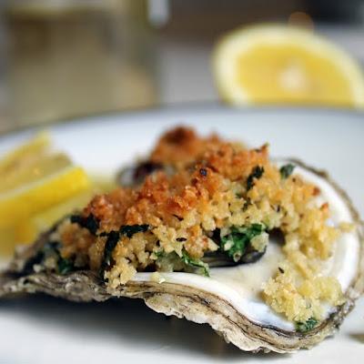 oysters Rockefeller appetizer