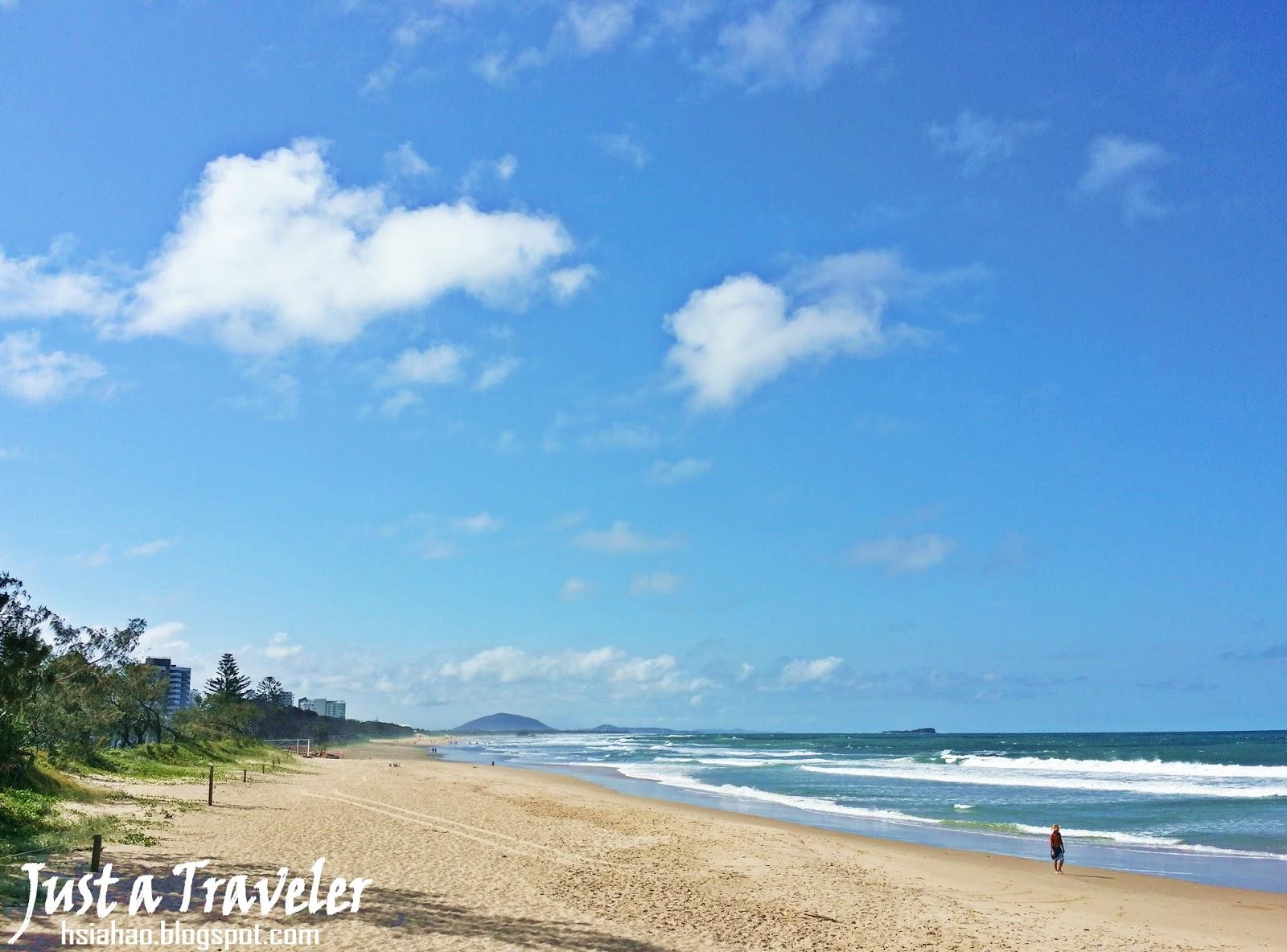 陽光海岸-海灘-一日遊-遊記-陽光海岸景點-推薦-住宿-Sunshine-Coast-Maroochydore-Beach