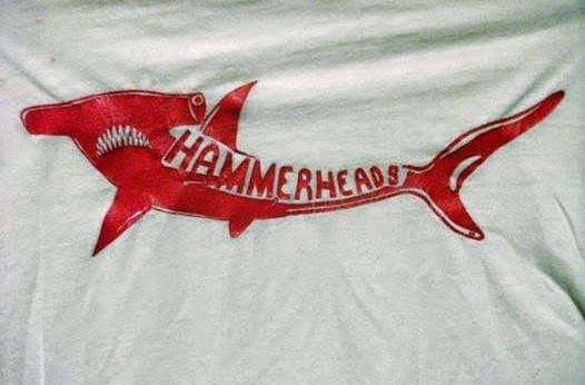Hammerheads rock club T-shirt