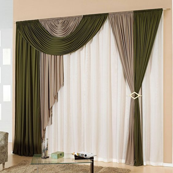 33 modern curtain designs latest trends in window coverings - Cortinas para sala sencillas ...
