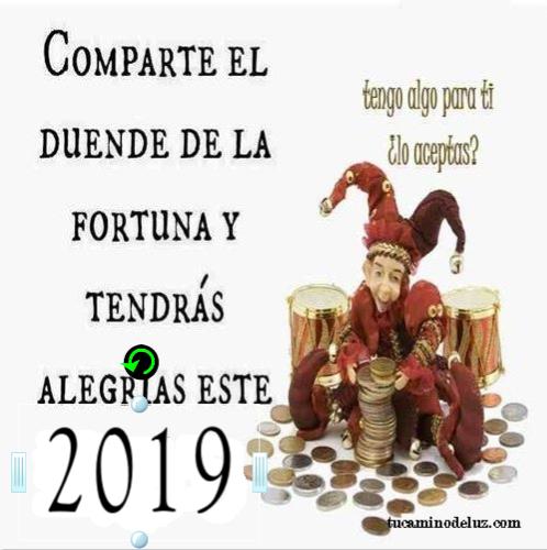 2019 duende de la Fortuna