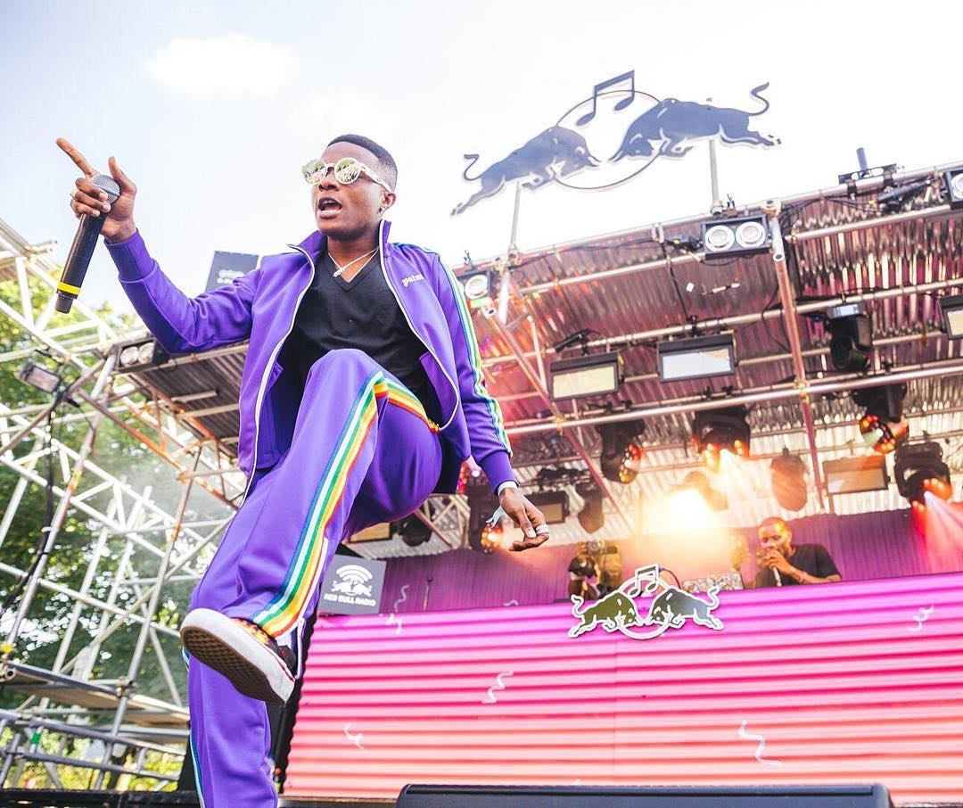 Wizkid Drilled Fans At Notting Hill Carnival in London  (Check Photos)