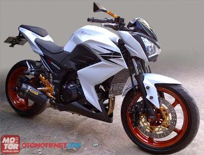 Koleksi Modifikasi Motor Kawasaki Z250