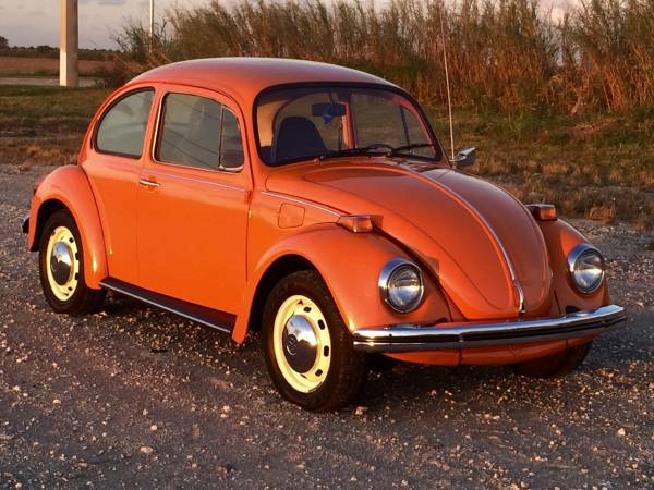 used 1974 volkswagen beetle classic by owner. Black Bedroom Furniture Sets. Home Design Ideas