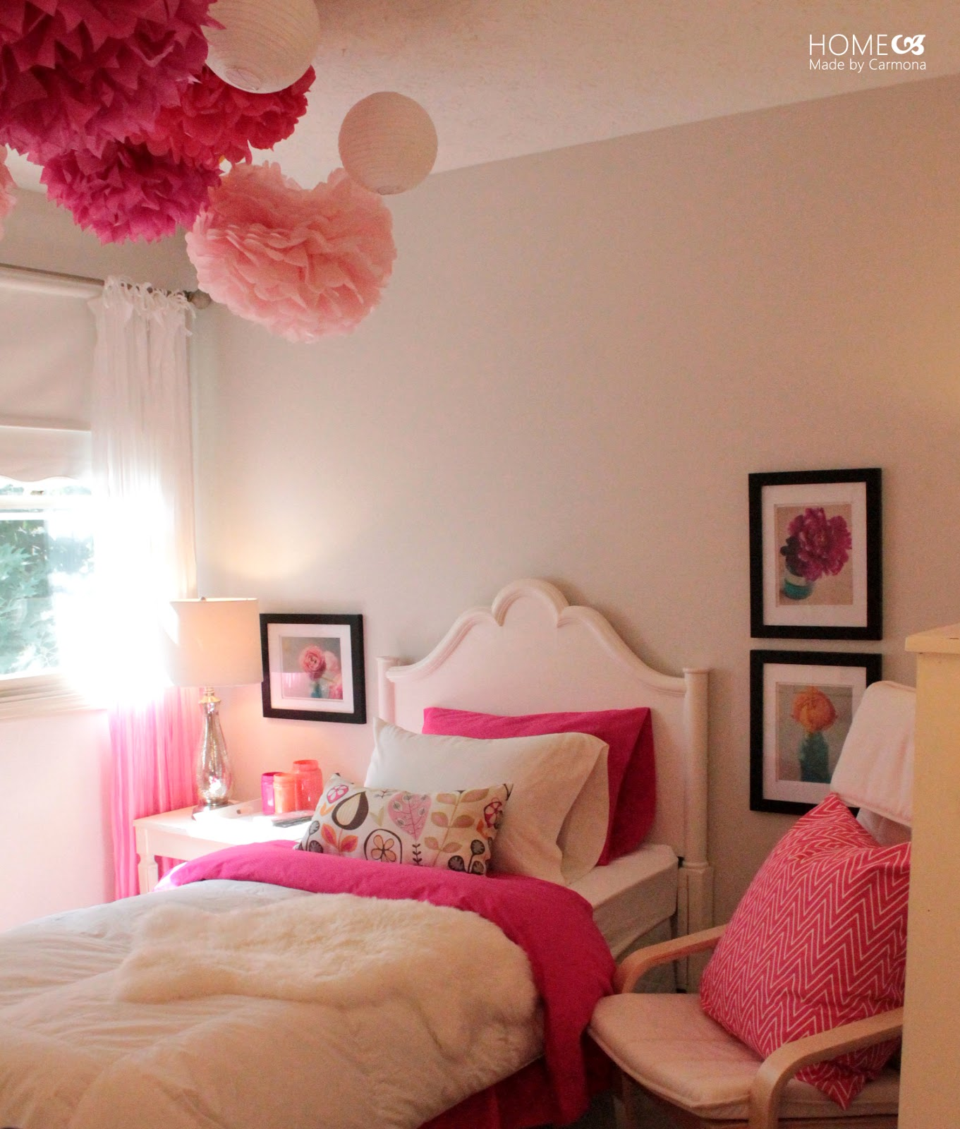 Girly Princess Bedroom Ideas: Princess Pink Bedroom Reveal
