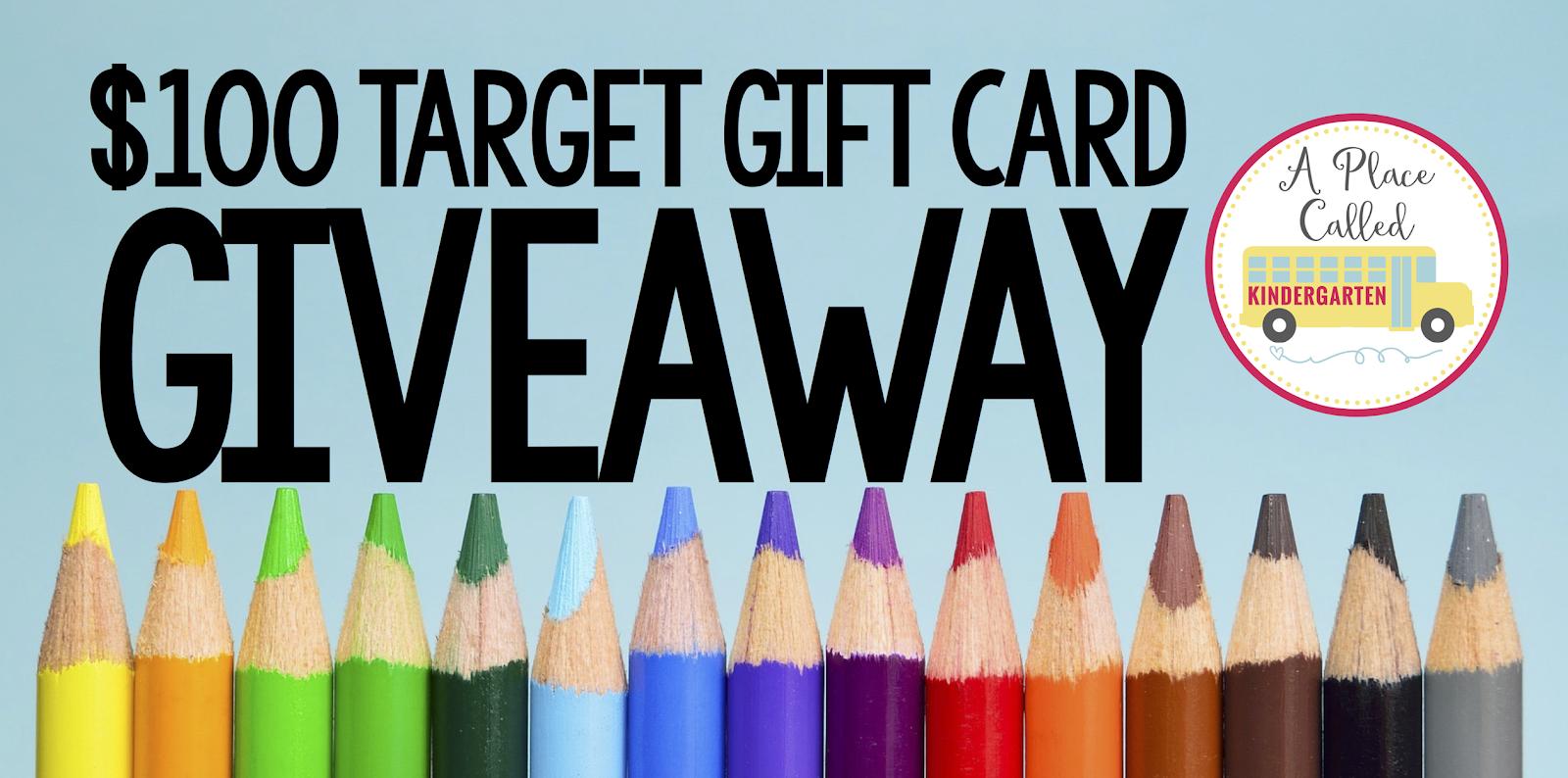 a place called kindergarten 100 target gift card giveaway. Black Bedroom Furniture Sets. Home Design Ideas