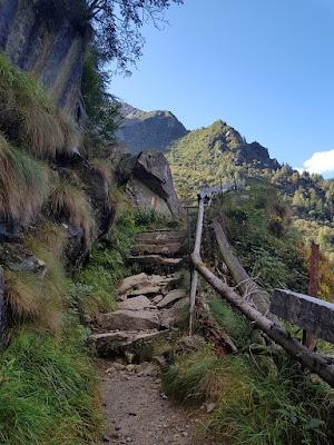 sentiero scale dell'adamé