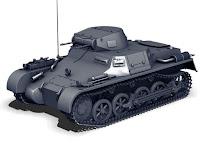Bir Alman askeri panzeri