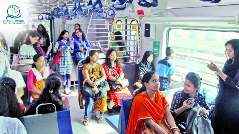 Board Into Women's Compartment in Trains