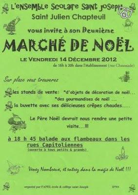 Marché de Noël 2012, Saint Julien Chapteuil