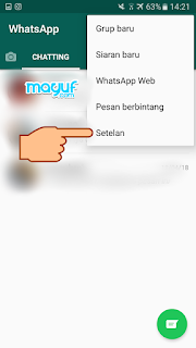 Cara Mengubah Wallpaper/Background Chat Di Whatsapp Terbaru