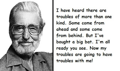 """Dr. Seuss Quotes About Troubles"""