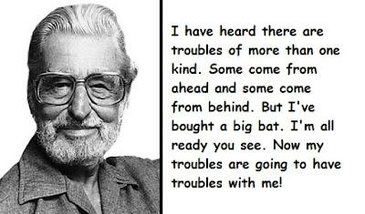 """""""Dr. Seuss Quotes About Troubles"""""""