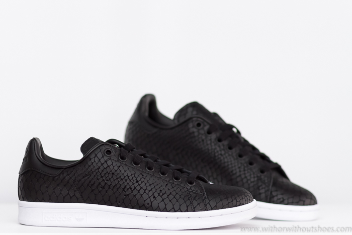 Adidas Stan Smith Negras Y Blancas