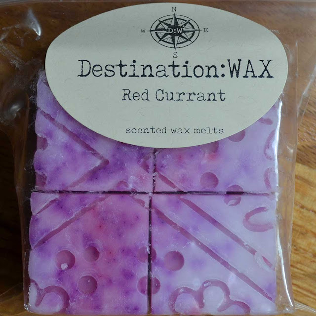 red current raspberry wax melt
