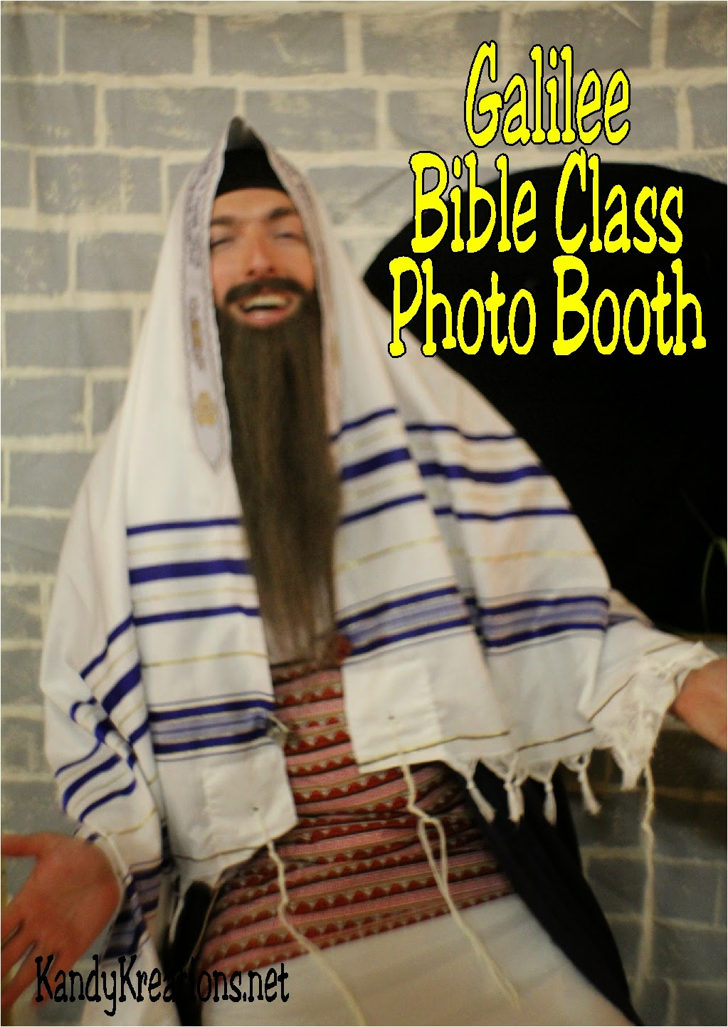 Galilee-Bible-Study-DIY-Photo-Booth