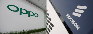 OPPO and Ericsson Signed Patent License Agreement