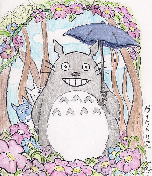Fanart Meu Amigo Totoro