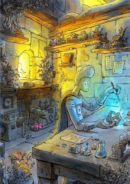 atelier fantasy la fabrique bd cube magique apprenti Le Pueblo