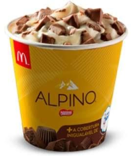 Novidades McDonald's Verão 2018 McFlurry Alpino Leite Moça e Mcshake Alpino