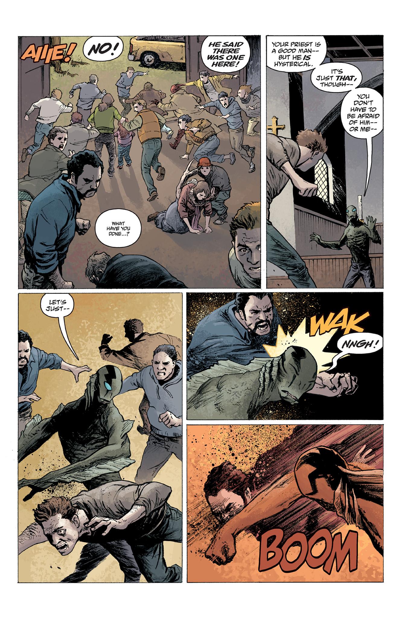 Read online Abe Sapien comic -  Issue #2 - 21