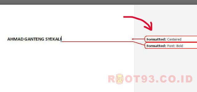 Menghilangkan formatted yang muncul setiap kali melakukan perubahan di ms word
