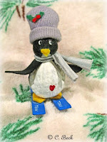 Nut critters penguin ornament