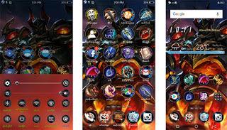 Mobile Legend Theme itz untuk Vivo