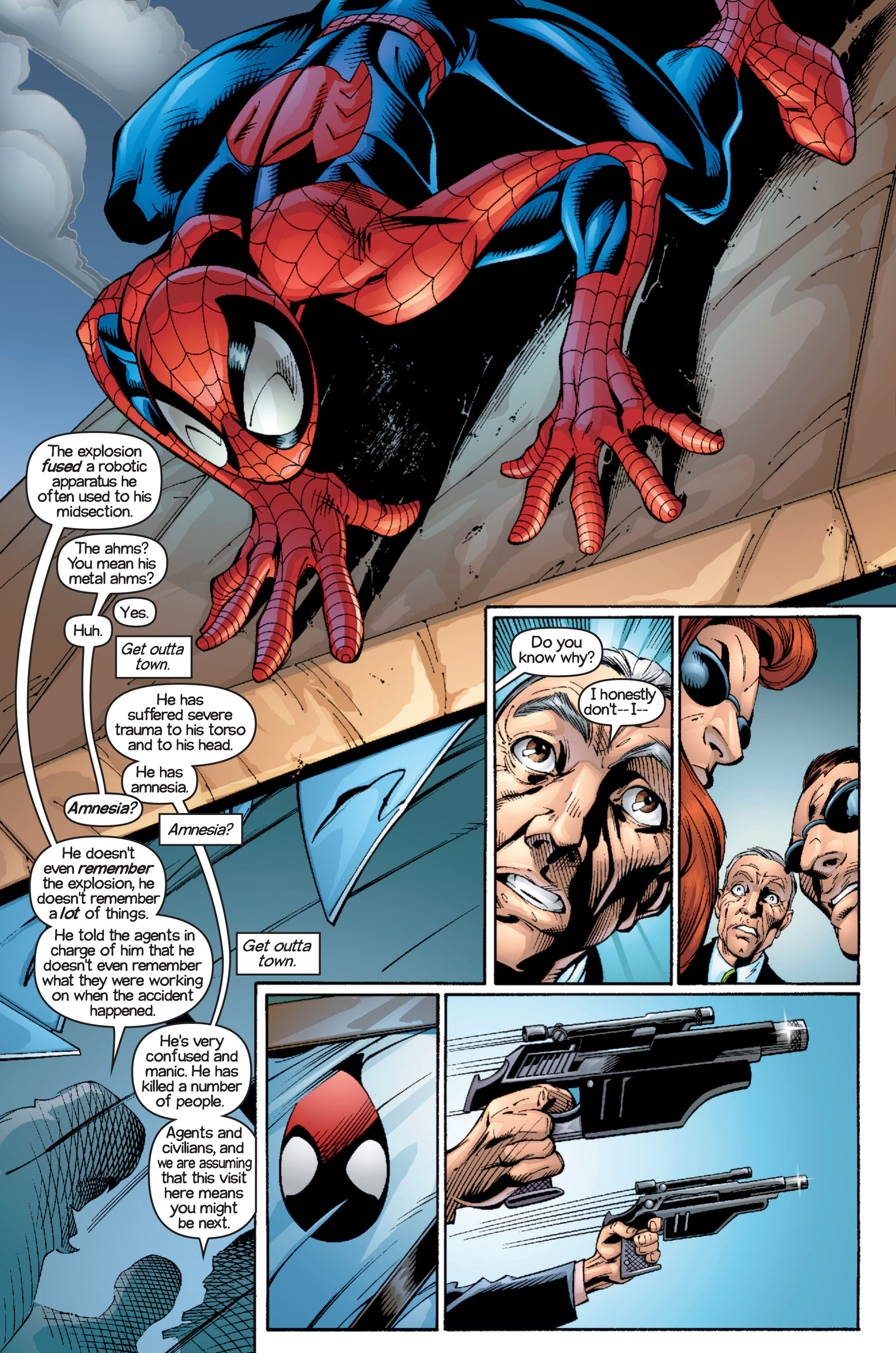 Read online Ultimate Spider-Man (2000) comic -  Issue #16 - 17