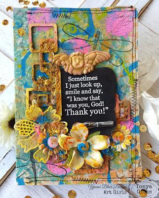 Blessing Journal designe dy Tonya A. Gibbs for Yvonne Blair