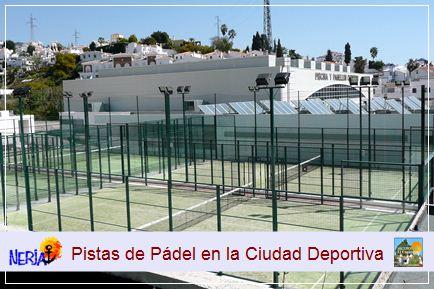 En colaboración con el Ayuntamiento de Nerja, El Capistrano pone a disposición de sus clientes una gran variedad de instalaciones deportivas municipales