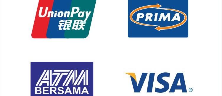 download Logo Vector ATM BERSAMA ALTO MAPS UNIONPAY VISA PRIMA yang biasa digunakan BANK di Indonesia