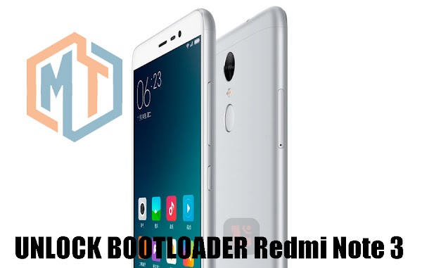Cara Unlock Bootloader Redmi Note 3