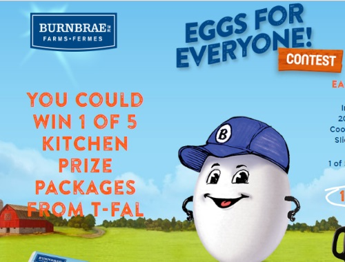 Burnbrae Farms Eggs For Everyone Contest