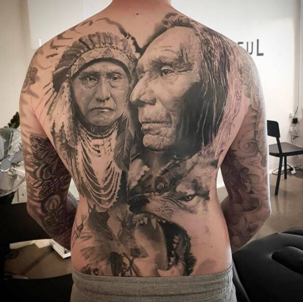 Top 10 Native American Tattoos: 50+ Traditional Native American Tattoos With Meaning (2018